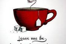 Tea Cup's & Saucer's  / The simple taste of elegance! / by SimoneDanielle` Rio