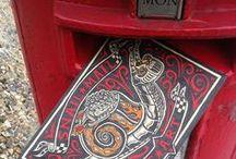 Snail Mail. / by Cheryl Watson