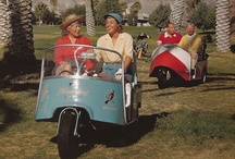 Custom golf carts / A collection of cool, funny, retro, weird and downright bizarre golf carts. / by Not In The Pro Shop