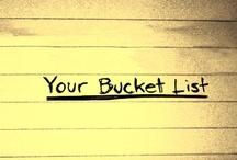 My Bucket List / by Sookie Shuen