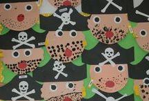 Pirates / Idées d'activités en lien avec ce thème / by Nathalie Pelletier