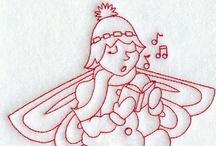 redwork/stichery/needlework/borduren / by lut segers