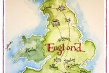 England! / Like all great travellers, I have seen more than I remember, and remember more than I have seen.  Benjamin Disraeli / by Angie Erwin