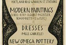 Omega workshops / by Myrtyl De Beauvoir