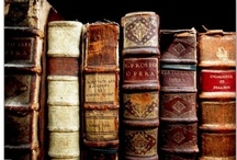 Old Books : Bibliophile / A curated collection for the love of books especially antique & vintage books with beautiful bindings, meaningful words & lovely illustrations. #bibliophile  / by Carolyn Williams