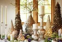 Christmas decorating ideas / by Nancy Mellet