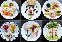 Cute food for kids / by Tiffany Maiste