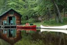 cabin in the woods / wish everyday was like a day at the cabin...  / by Jen Muehlbauer