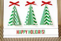 Christmas Card Ideas / Christmas photo inspiration and ideas for DIY Christmas cards. / by Katie Oholorogg
