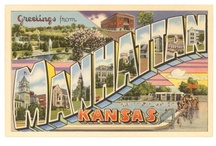 Manhattan, Kansas / The musings of Manhattan, Kansas. Both current & old. / by K-State Libraries
