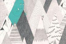 Diseño Gráfico, Arte, Ilustración. / by Viridiana Coñejo