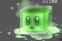 Slime (dumb but cute) / by Ally Hernandez