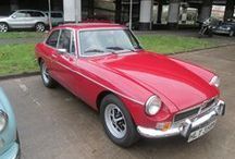 1974 MGB / 1974 MGB at the David Manners Group http://www.jagspares.co.uk/Abingdon/company.asp / by David Manners Group