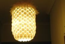 Lampshade,lampes and lightning / by Tina Pedersen
