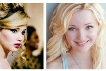 Jennifer Lawrence and Dove Cameron / These two might be different, but they are the perfect celebrities who I look up to. They are great role models for young girls! / by Gianna Scrinina