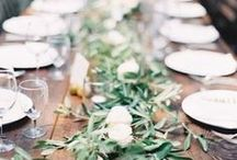 Table Decor + Dinner Parties / by Bow & Blush
