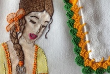 Bordado embroidery broderie ricamo stickerei / by Aida T. P.