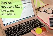 Blogging & Social Media Solutons / Tips and Tricks for Bloggers  / by Front Row Mama