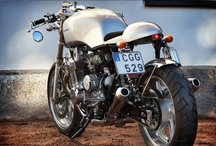 CAFE RACER & CUSTOM BIKE LOVE / by Benjamin Teper