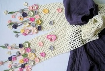 Crocheted Scarves & Shawls / by Anne Selnick