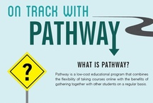 Pathway & Online Programs / Gather locally - connect globally / by Pathway
