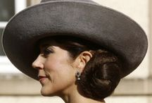 Style: Hats & headpieces / I love hats - and I think Crown Princess Mary of Denmark is a beautiful representative for hat fashion. / by Nille Franck