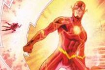 The Flash / When a freak lightning bolt hits, Barry Allen receives super-speed, becoming The Flash. Now, he'll race up buildings, across oceans and around the world! / by DC Comics