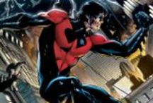 Robin/Nightwing/Grayson / What do you do if you're the Boy Wonder to one of the most recognizable super heroes in the universe and you're looking to break out on your own?You become Nightwing. / by DC Comics