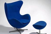 Denmark: Great Danes - Arne Jacobsen / Arne Jacobsen (1902-1971) was a Danish architect and designer. He is remembered for his contribution to architectural Functionalism as well as for the worldwide success he enjoyed with simple, but effective chair designs / by Nille Franck