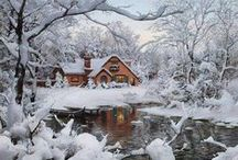 Winter Wonderland / Winter...a time of cold, short days and long nights, blazing fireplaces and blankets...and marvelous beauty. / by Cindy Kane