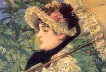 Edouard Manet ( 1823-1883 ) / by Ömür Uzar