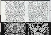 Crochet, puntadas / by Paty Estrada de Meza