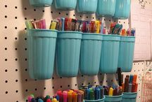 Home Organization ideas. / Ways and ideas to be neat and organized.  / by Geneva Bringardner-Deville