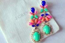 Earrings; / by Amanda Solomon