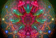 ART - Mandalas, Zentangles, Fractals / by Jennifer Ray Miller