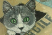 Animals: Kitties in Art again / by Judy Haynes Faust