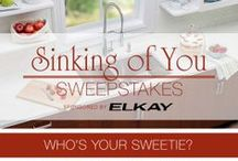 Sinking of You Sweepstakes / Who's your sweetie? Show us for a chance to win an Elkay Crosstown sink bundle and faucet! / by Build.com