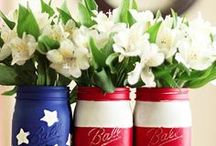 Red, White, and Blue / Independence Day inspiration, products, DIY projects, and decor. Find everything red, white, and blue to brighten up your 4th of July! / by Build.com