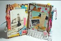 Smash/Junk/Glue books, mini albums / by Jutta König