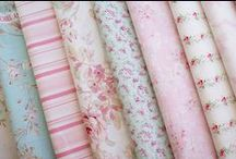 Fabric ~ Ribbon ~ Buttons / by Maria Harvey