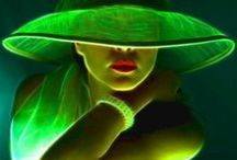T h e  G r e e n  R o o m / the colour of hope.... / by Nolda Delpeut
