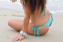 Nvr Strings - Tie Side Thong Bikini / Nvr Strings - Marine - Tie Side Thong Bikini - Versant style / by Nvr Strings Bikinis Brazilian Bikinis, Thong Bikinis, Cheeky and Micro BIkinis