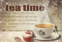 Tea cups, saucer, teapots and mugs / by Arcee