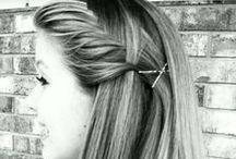 cute hair!!!:) / by Taina Adams