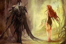 Fantasy and Art / by Jessica Morrow