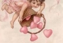 """Vintage Ephemera - Valentines / by Sandra Russ Perry """"Vintage Enjoyables"""""""