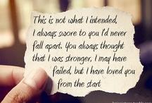 Lyrics of Life / by Miranda Memmott