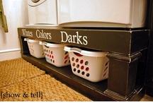 Laundry Room Ideas / by Miranda Memmott
