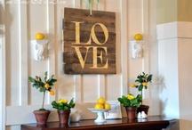 Home Decorations / by Miranda Memmott