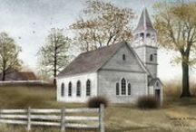 Country Churches Old & New / by Nancy Smith